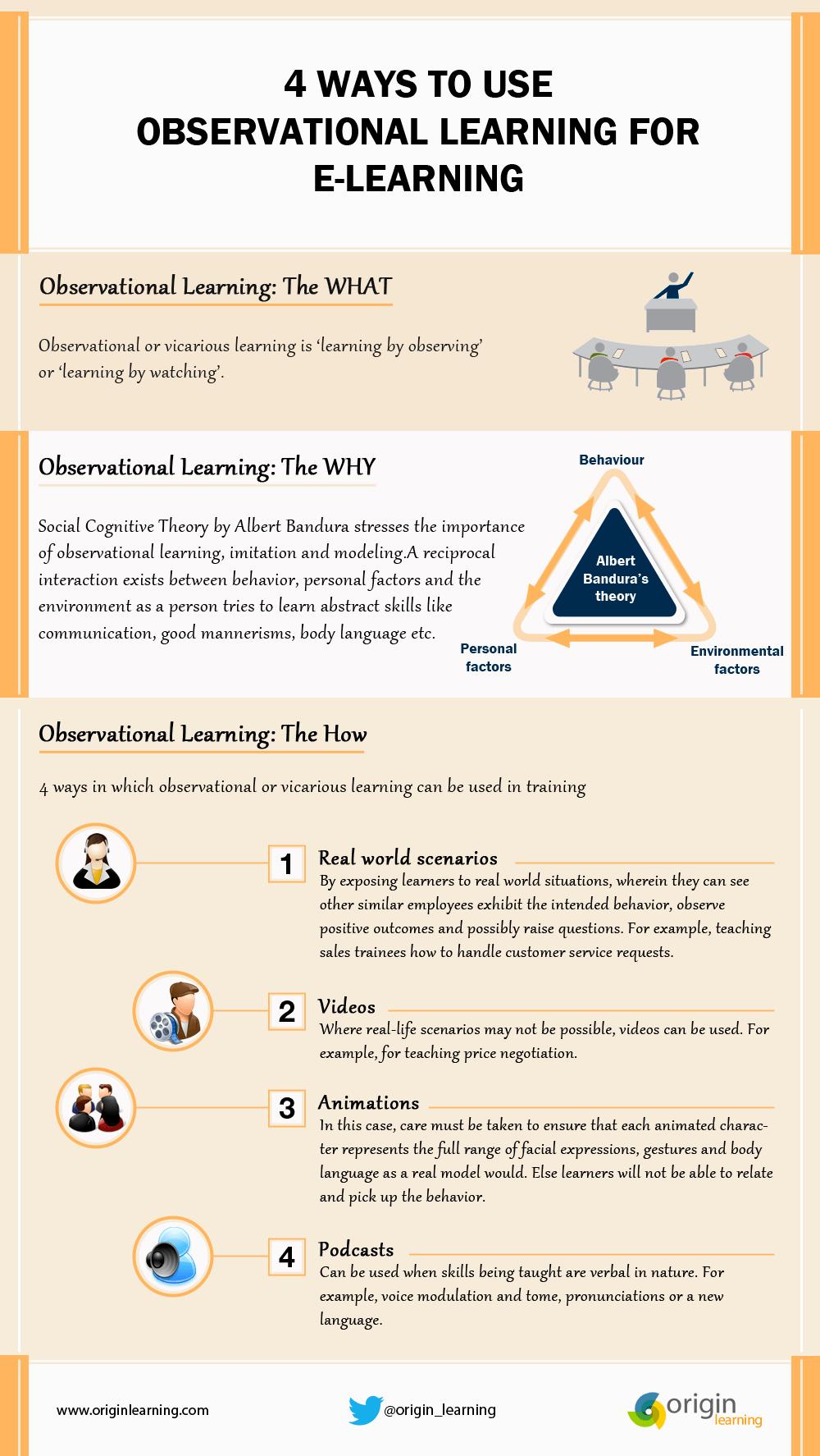 4 steps of observational learning essay