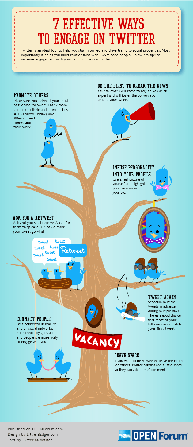 7-Effective-Ways-To-Engage-On-Twitter-Infographic