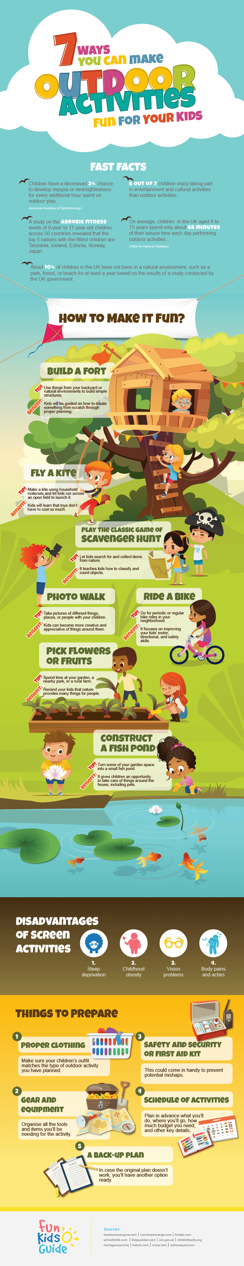 7 Ways You Can Make Outdoor Activities Fun For Your Kids
