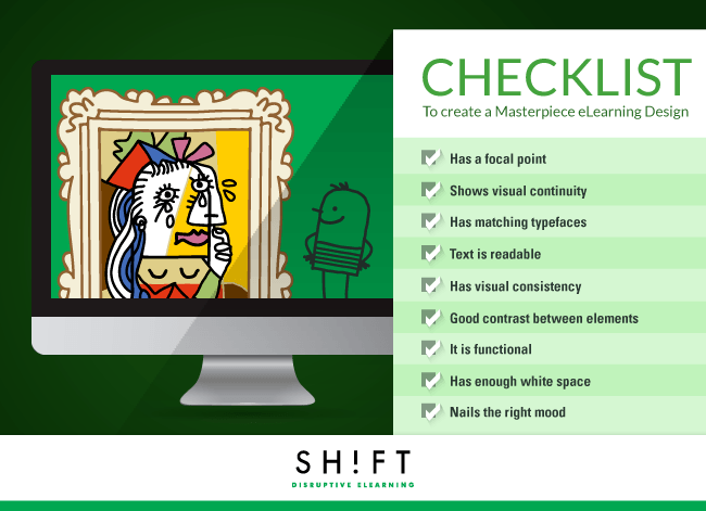 The Perfect eLearning Course Design Checklist Infographic
