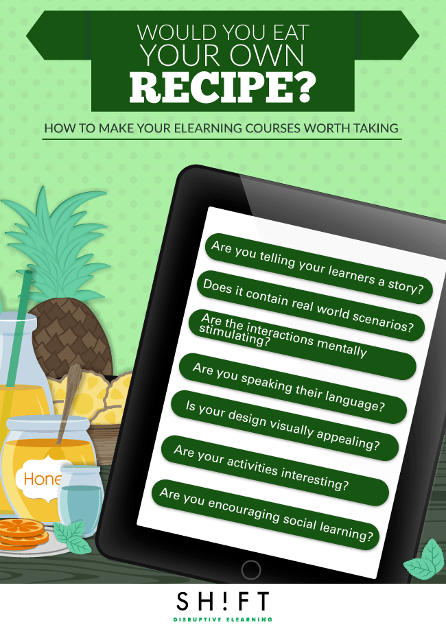 How to Make your eLearning Courses Worth Taking Infographic