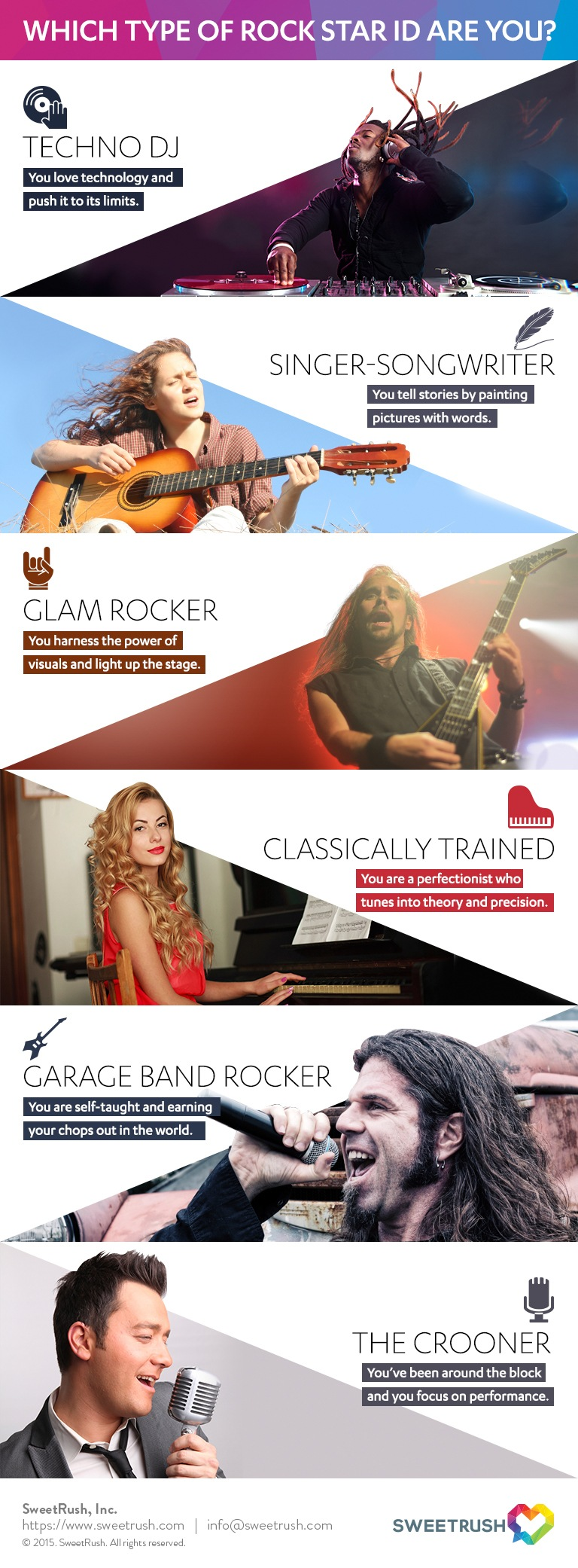 Which Type of Rock Star Instructional Designer are You? Infographic