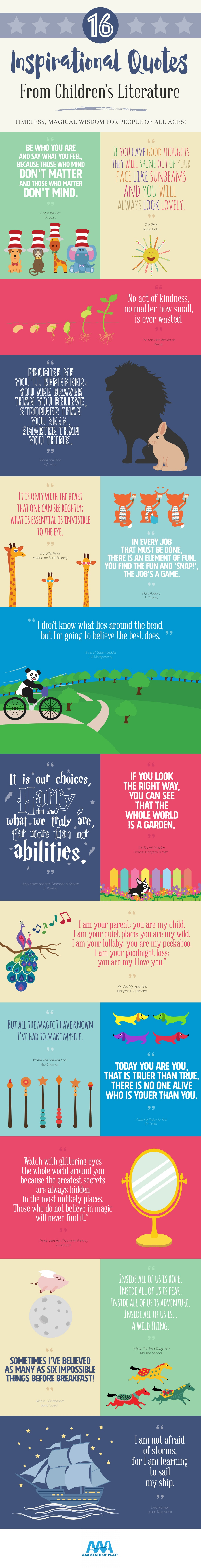 inspirational quotes from children 39 s literature