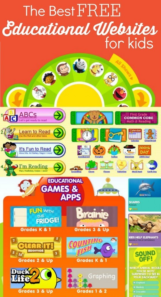 Fun and Free Educational Websites for Kids
