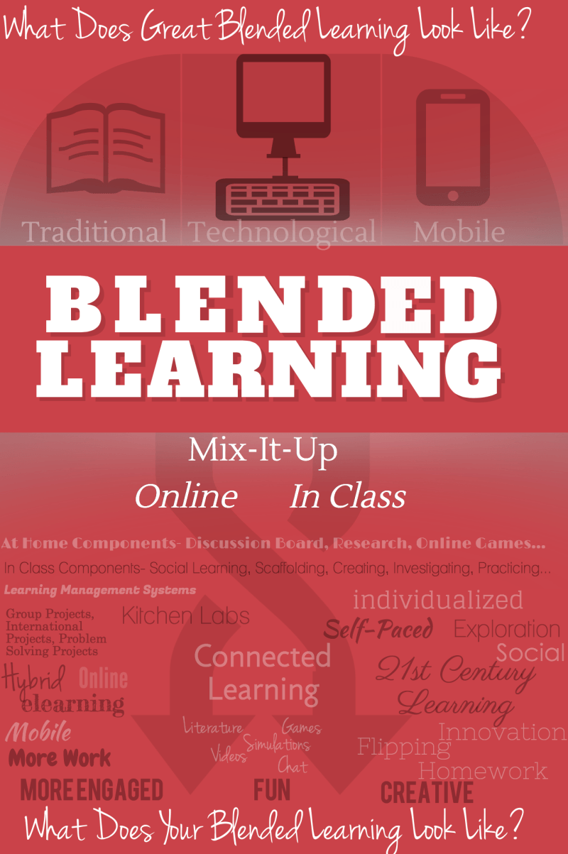 What Does Great Blended Learning Look Like Infographic