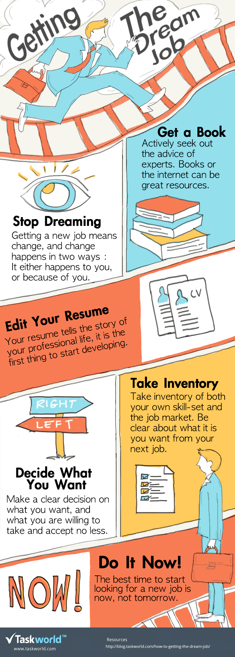 getting the dream job infographic e learning infographics getting the dream job infographic