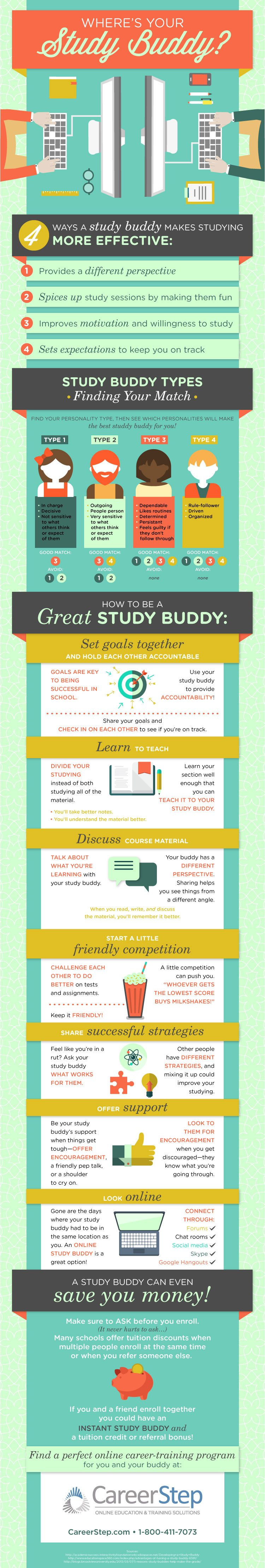 The Study Buddy Infographic